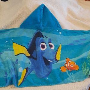 🔶️3/$12🔶️Hooded Bath Towel, Disney Finding Dory